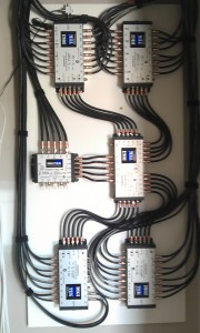 Part of a 5 Wire MATV system installation