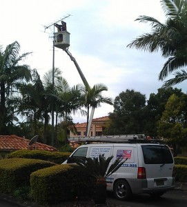 Tall Antenna installation