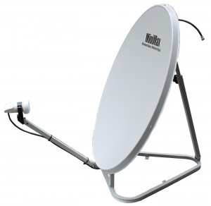 Folding portable Satellite dish