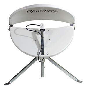 Optima 75T Folding Satellite Dish & Tripod