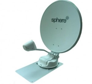 Sphere Automatic Satellite Dish